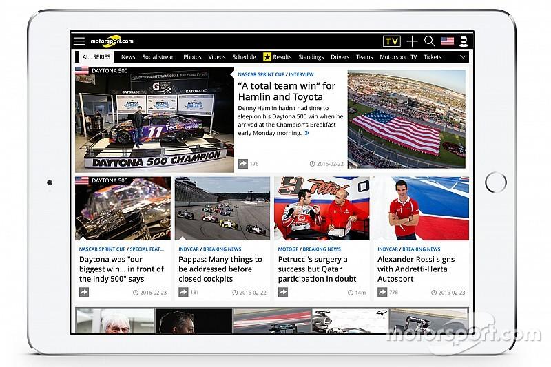 Motorsport.com расширяет охват североамериканской аудитории