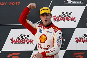 Supercars Race report Winton Supercars: McLaughlin cruises to Saturday win