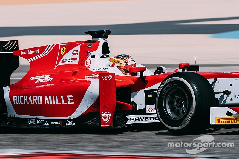 Bahrain F2: Leclerc fights back after stop for maiden win