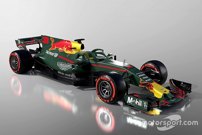 aec50a20bb9 3D video  How Aston Martin Red Bull Racing car might look in 2018