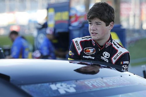 Harrison Burton finds himself in a NASCAR age-limit quandary