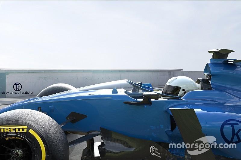 Formel-1-Cockpitschutz Shield erhält Zustimmung von Adrian Newey