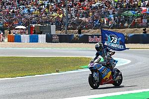Moto2 Race report Moto2 Spanyol: Marquez akhirnya menang, Morbidelli terjatuh