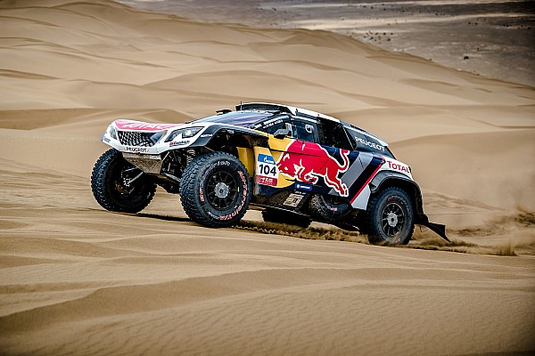 Cross-Country Rally Noticias de última hora Peugeot, con Sainz y Loeb en Marruecos