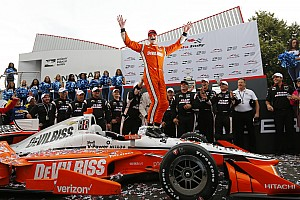 IndyCar Race report Toronto IndyCar: Newgarden holds off Rossi as other aces hit bad luck