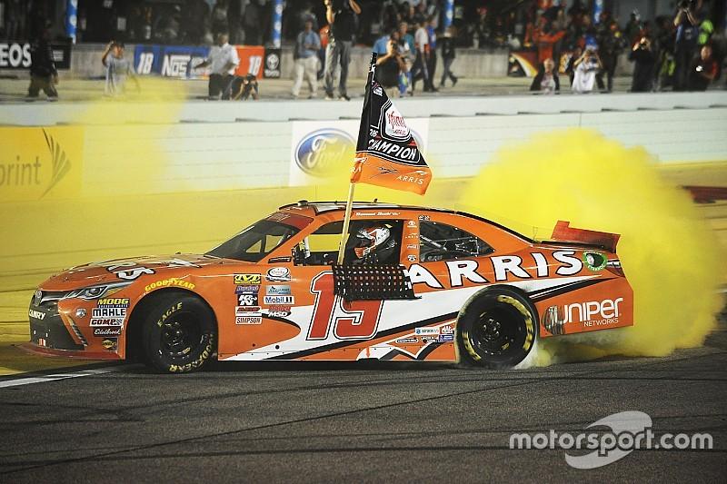 Suarez makes history as first ever foreign-born NASCAR Xfinity champion