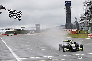 F3 Europe Race report Nurburgring F3: Norris wins wet Race 1 by 17 seconds