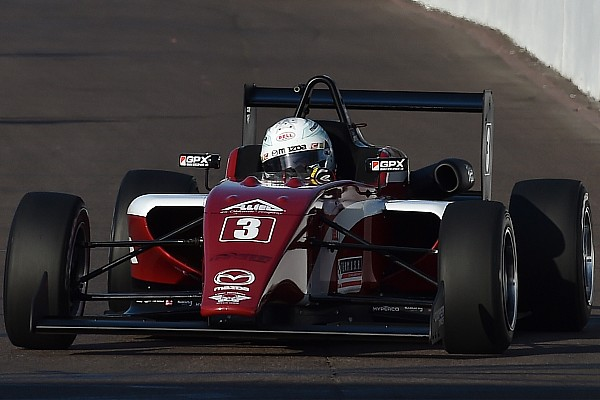 USF2000 Qualifying report Barber USF2000: Askew takes second pole of the weekend