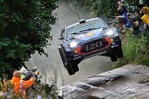 WRC Etappeverslag WRC Polen: Neuville neemt kleine voorsprong op Tanak