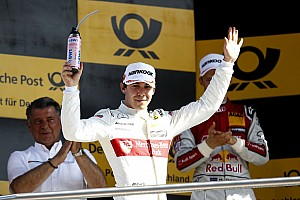 Robert Wickens feliz con sus dos podios en el DTM