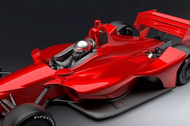 В IndyCar опробуют новую систему защиты головы на машине 2018-го