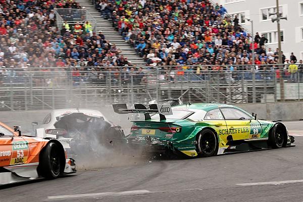 DTM Paffett, Rockenfeller ile yaptığı kazada 38G kuvvete maruz kalmış
