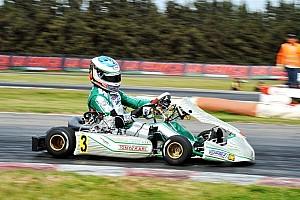 Karting Raceverslag Ardigo wint eerste race EK KZ, Nederlanders sterk