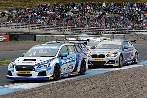 BTCC Breaking news Plato: BTCC's engine parity rules unfair to Subaru