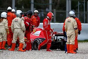 Formule 1 Résumé d'essais Barcelone, J6 - Mercedes au top, Ferrari dans le mur