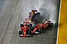 Videón a botrányos szingapúri rajt: Räikkönen-Vettel-Verstappen