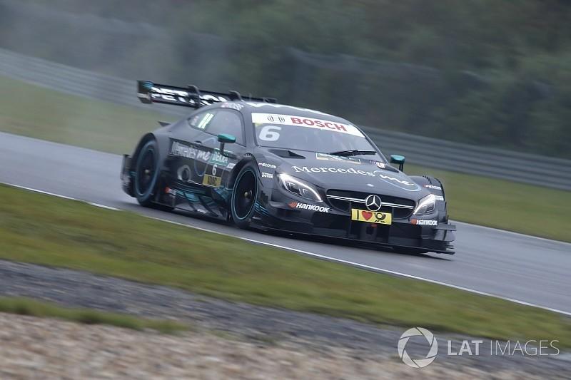 Course 2 - Wickens emmène un doublé Mercedes