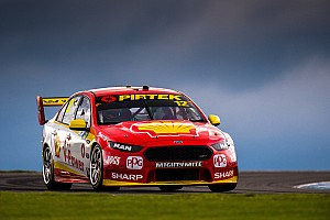 Supercars Race report Phillip Island Supercars: Coulthard wins bizarre opening race