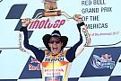 Márquez gana en Austin y Rossi se coloca líder del mundial