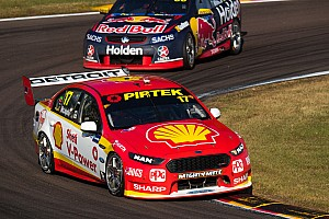 Supercars Qualifying report Darwin Supercars: McLaughlin grabs provisional Sunday pole