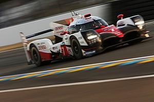 Le Mans Jelentés az időmérőről A Toyota kisajátította az első sort a Le Mans-i időmérőn!