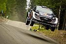 WRC Ogier hits trouble in Finland