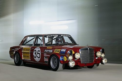 El Mercedes 'Red Pig' cumple 50 años