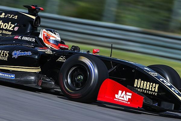 Formula V8 3.5 Reporte de calificación Binder en la pole en Austin y Celis en séptimo