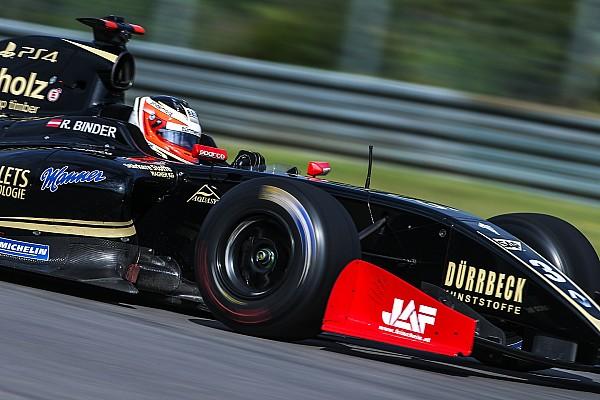 Formula V8 3.5 Reporte de calificación Rene Binder se lleva la pole en Austin en la Fórmula V8 3.5