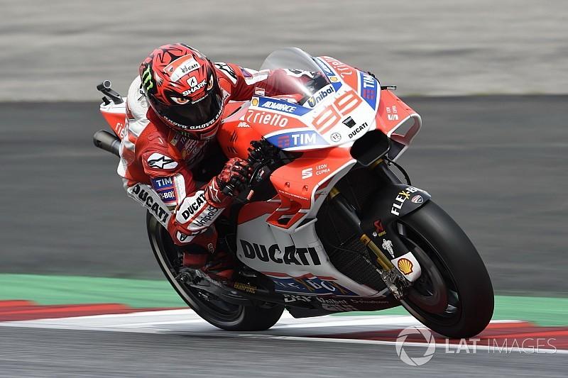 La Ducati oggi inizia un test di due giorni a Misano