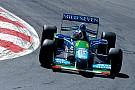 فورمولا 1 ميك شوماخر سيقود سيارة بينيتون ضمن فعاليات جائزة بلجيكا الكبرى