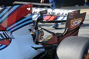 Formula 1 Analysis Williams trials own double T-wing solution