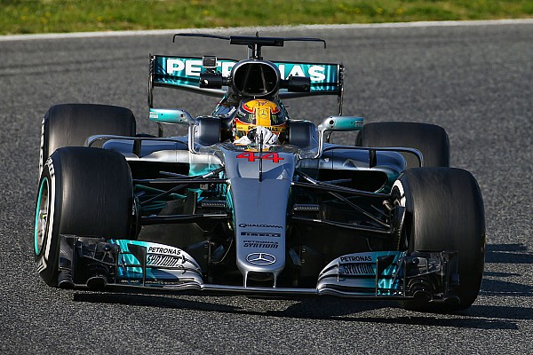 Formula 1 Testing report Barcelona F1 test: Hamilton and Mercedes top opening day