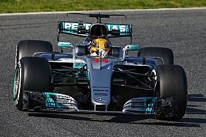 2017 Barcelona testleri: 1. günün lideri Hamilton, Vettel 2. oldu