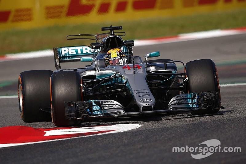 Mercedes lidera la FP1 un segundo por delante del resto