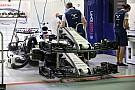 Williams avec l'évolution du moteur Mercedes à Sepang