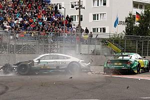 DTM News DTM-Unfall am Norisring 2017: Auf Gary Paffett wirkten 40 g