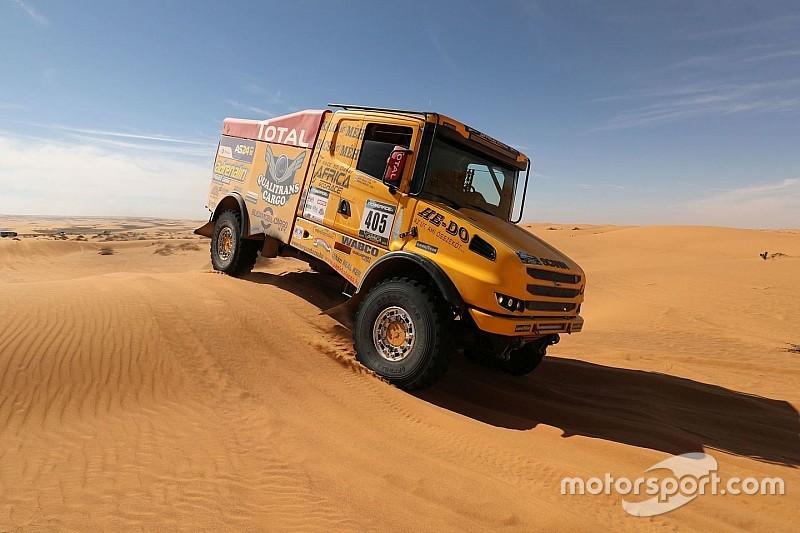 Africa Eco Race: Két gyári Kamaz a magyar Scania mögött