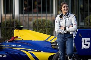 GP3 Репортаж з практики GP3 у Спа: сенсація від Татьяни Кальдерон