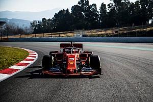 La nouvelle Ferrari a roulé à Barcelone