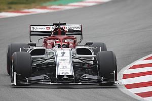 Raikkonen fastest for Alfa on third morning of F1 test