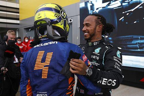Russian GP: Hamilton scores 100th F1 win in crazy, rain-hit race