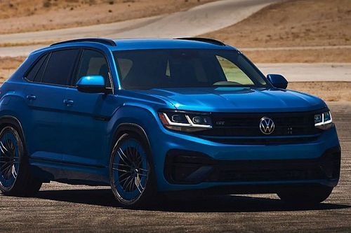 300 lóerő fölötti teljesítménnyel debütált a VW Atlas Cross Sport GT tanulmány