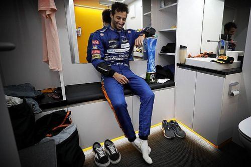 Le trophée de Ricciardo a rejoint celui de Senna