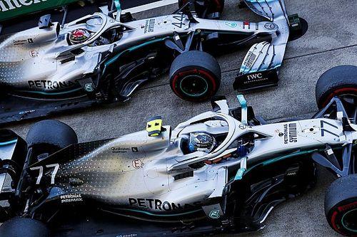 Hamilton señala al motor Mercedes, a pesar de acariciar el título
