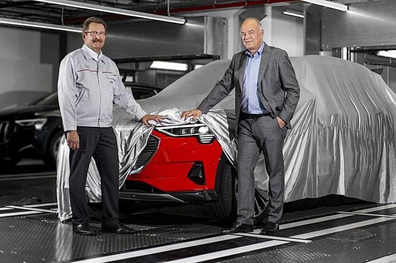 Перший Audi E-Tron зійшов з конвеєру в Бельгії