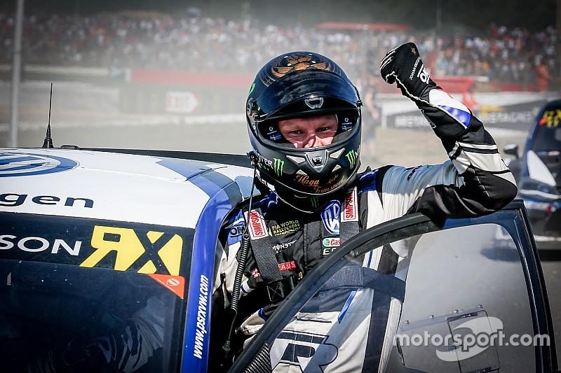 Latvia World RX: Kristoffersson dominates Saturday qualifying