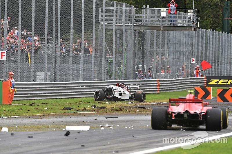 Ericsson protagonizó un espectacular accidente en Monza