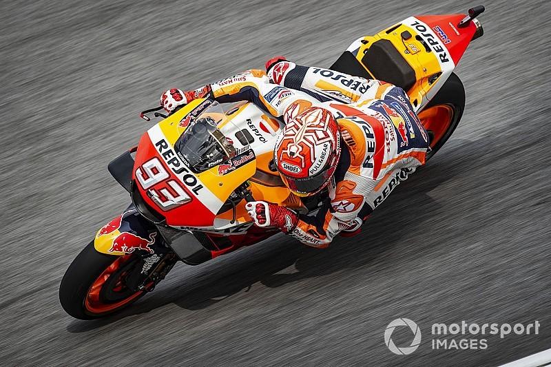 Temporal atrasa quali e Márquez é pole do GP da Malásia
