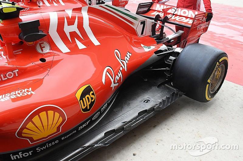 Ferrari: ecco il fondo che è stato modificato con le paratie anti-murble